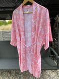 Baby pink Kimono - flowers